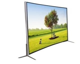 Curve Tv, 4K Resolution screen
